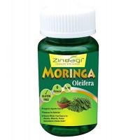 Zindagi Moringa Capsules -Moringa Leaf Extract 400 mg, 60 capsules - Health Supplement