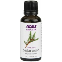 NOW Foods 100% Pure & Natural Cedarwood Oil - 1 oz (30 ml)