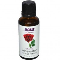 NOW Foods Rosewater Concentrate, 1 Ounce (30 ml)