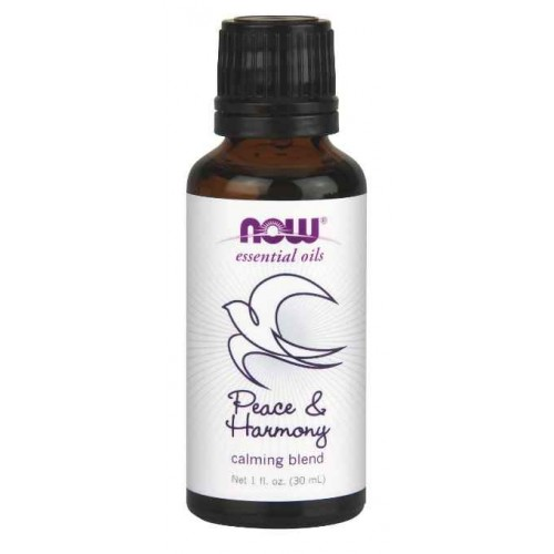 Now Foods Peace and Harmony Oil Blend, 1 Ounce (30 ml)