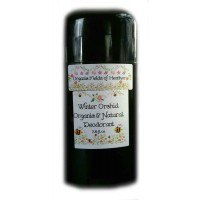 Organic Fields of Heather WINTER ORCHID Scent - Organic & Natural Deodorant, 2.5 fl. Oz
