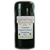 Organic Fields of Heather UNSCENTED Organic & Natural Deodorant, 2.5 fl. Oz