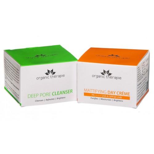 Organic Therapie CREAM & CLEANSER Combo