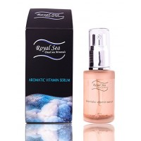 Royal Sea Dead Sea Minerals Aromatic Vitamin Serum Fat Acids, Ethereal Oils 30ml