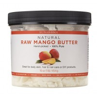 Sunaroma Body Butters for Skin and Hair (Mango Butter) 454 gm