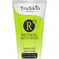 TruSkin Naturals BEST Organic RETINOL Face Cream MOISTURIZER to Reduce Wrinkles - Vitamin A, E, B5, Hyaluronic Acid, Jojoba Oil, Green Tea