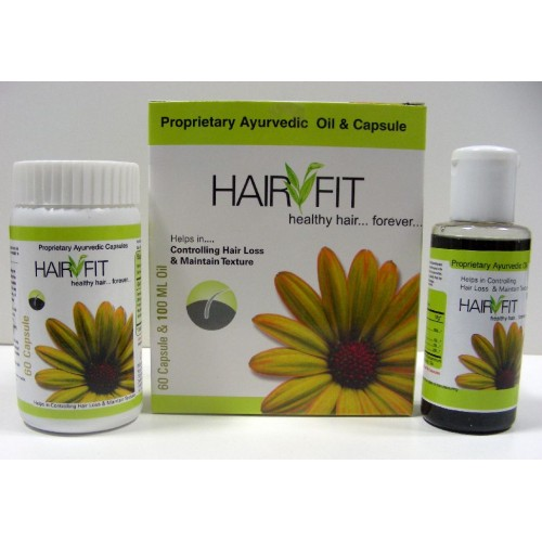 Herbal Hair Oil & Capsules - HAIR FIT