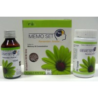 Herbal MEMORY ENHANCER - Memo Set