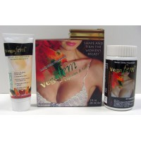 VEGA FEM - Breast Enlargement Capsules & Gel (1 month)