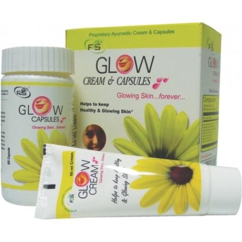 Herbal SKIN GLOW Cream & Capsules