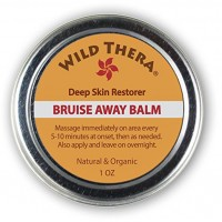 Wild Thera Concentrated Bruise Remedy. Natural First Aid. Bruise Cream with Herbs, Essential Oils, Arnica and Turmeric. For Injury, Wounds, Pain Relief. Use with Ice Pack, Bruise Concealer & Homeopathic