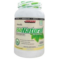 Allmax Nutrition Isonatural Whey Protein Isolate - Vanilla 2lb (907 gm)