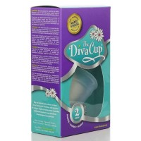 The Diva Cup Model 2 Menstrual Cup - 1 Pack