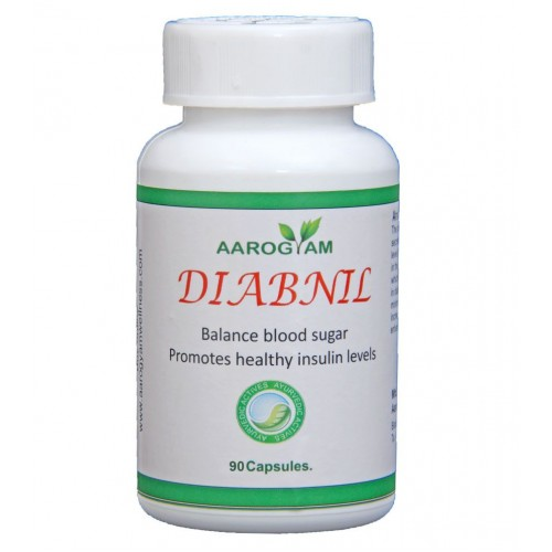 Aarogyam DIABNIL 500mg Capsules (90) for Diabetes