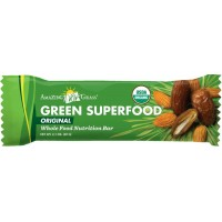 Amazing Grass Organic Green SuperFood Whole Food Energy Bar, 2.1 oz. Bars, 12-Count Bars