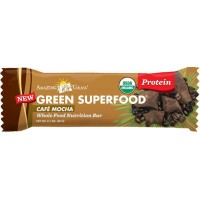 Amazing Grass Whole Food Nutrition Bar, Café Mocha - Protein, Box of 12 bars, 2.1 Ounce (Pack of 12)