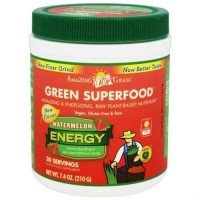 Amazing Grass Superfood Energy Watermelon 30 Servings - 7.4 oz (210 gm)