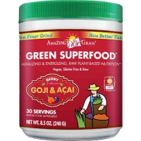 Amazing Grass Green SuperFood Berry, 30 Servings, 8.5 Ounces (240 gm)