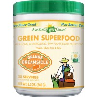 Amazing Grass Green Superfood Orange Dreamsicle, 30 Servings, 8.5 Ounces (240 gm)