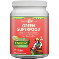 Amazing Grass Green Superfood Energy Watermelon, 100 Servings, 24.7 Ounces (700 gm)