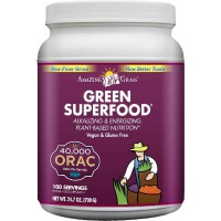 Amazing Grass Green SuperFood ORAC, 100 Servings, 24.7 Ounces (700 gm)