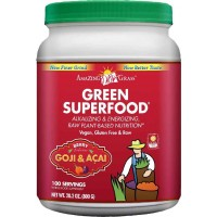 Amazing Grass Green SuperFood Berry, 100 Servings, 28.2 Ounces (800 gm)