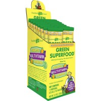Amazing Grass Green Superfood Multivitamin Pineapple Lemongrass Box Of 15 Individual Servings, 0.25 Ounces