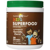 Amazing Grass Kidz Superfood Powder, Chocolate, 6.5-Ounce (180 gm)