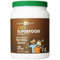 Amazing Grass Kidz Superfood 100 Servings, Chocolate, 21-Ounce (600 gm)