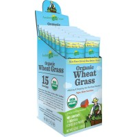 Amazing Grass Organic Wheat Grass, Box Of 15 Individual Servings, 0.28 Ounces
