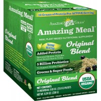 Amazing Grass Amazing Meal Original, Box of 10 Individual servings, 23.8 Gm Pouches