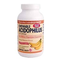American Health Acidophilus Probiotics, Banana, 100 Count - Digestive Health