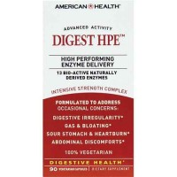 American Health Dietary Fiber Supplements, Digest Hpe, 90 Veg Capsules