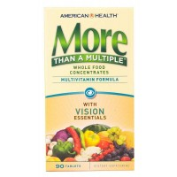 American Health More Than A Multiple with Vision Essentials 90 Tablets