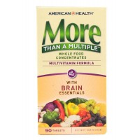 American Health More Than A Multiple With Brain Essentials 90 Tablets