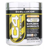 Cellucor C4 Extreme 60 Servings - Pre-Workout (Orange)