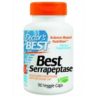 Doctor's Best Serrapeptase (40,000 Units) Veg Capsules