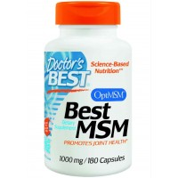 Doctor's Best Best MSM 1000 mg 180 Capsules - Joints