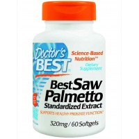 Doctor's Best Best Saw Palmetto Extract (320 mg), Softgel Capsules
