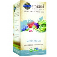 Garden of Life mykind Organics MEN'S MULTI, 60 Organic Tablets