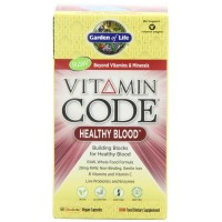Garden of Life Vitamin Code HEALTHY BLOOD 60 Vegan Capsules