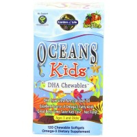 Garden of Life Oceans 3 OCEANS KIDS, 120 Chewables