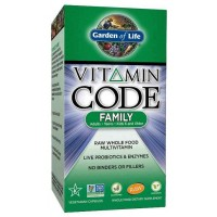 Garden of Life Vitamin Code Family Multi, 120 Capsules
