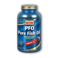Health from the Sun Dietary Supplement, PFO Pure Fish Oil, 180 softgels