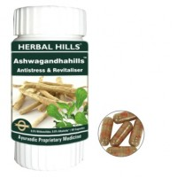 Herbal Hills ASHWAGANDHA Stress Relieving Capsules (60)