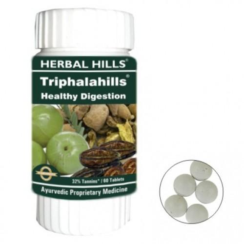 Herbal Hills Ayurvedic TRIPHALA Tablets (60)