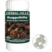 Herbal Hills Ayurvedic GUGGULHILLS Tablets (60)