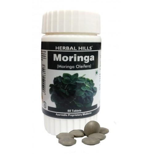 Herbal Hills Organic MORINGA Tablets (60)