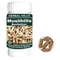 Herbal Hills MUSLIHILLS Male Revitaliser Capsules (60)