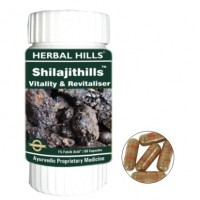 Herbal Hills Shilajithills Vitality Revitaliser Capsules (60) - Ayurvedic Medicines for Male Vitality